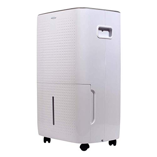 Soleus AC Soleus Air 50-Pint Energy Star Rated Dehumidifier with Mirage Display and Tri-Pat Safety Technology, DSJ-50EW-01, White