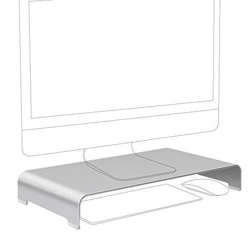 Vaydeer Monitor Stand Aluminum Computer Stand Riser for Desk, Metal PC...