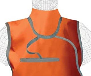 Mid Binding Thyroid Lead Free X-Ray Collar, Attached, 0.5mm Pb, Buckle