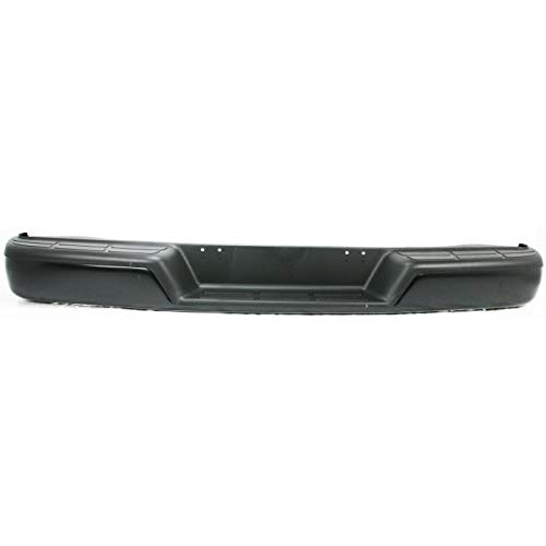 Make Auto Parts Manufacturing Rear Step Bumper Assembly Black For Chevrolet Express & For GMC Savana 1500 2500 3500 1996-2017 - GM1103143