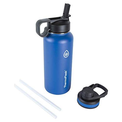 Thermoflask Double Stainless Steel Insulated Water Bottle, 32 oz, Cobalt