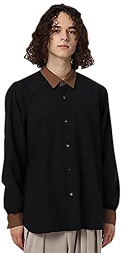 [ ティーケー タケオキクチ ] カジュアルシャツ 【S?3L】TRレギュラーカラーシャツ 17083104 メンズ ブラック(519) 01(S)
