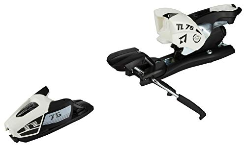 TECNOPRO Ski Alpin Bindung N TL75 B80, Weiss/Schwarz, One Size