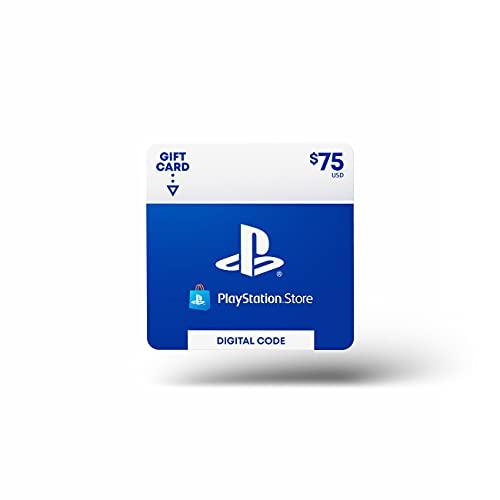 $75 PlayStation Store Gift Card [Digital Code]