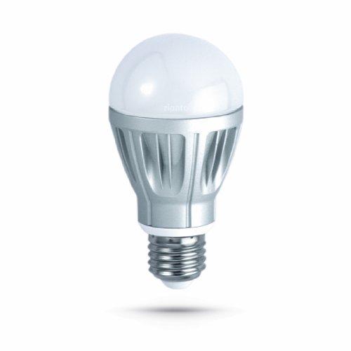 Zipato rgbwe27zw.eu  Lampadina LED 6,7 W Z-Wave Con Variatore Integrato RVB RGBW, Bianco Caldo/Freddo