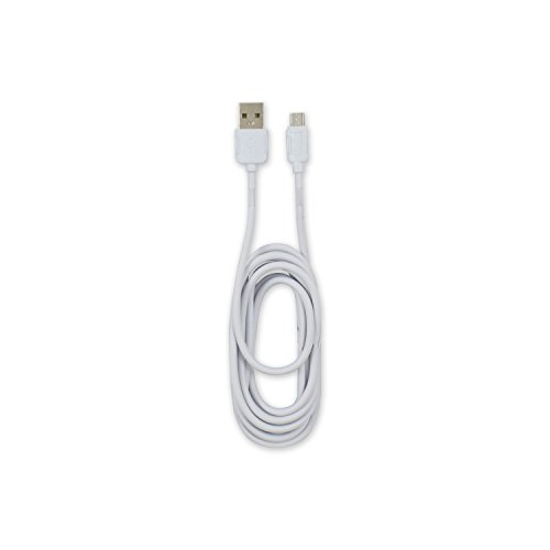 TM Electron CXU201020 - Cable USB 2.0 a Micro USB 5 Pin, Color Blanco