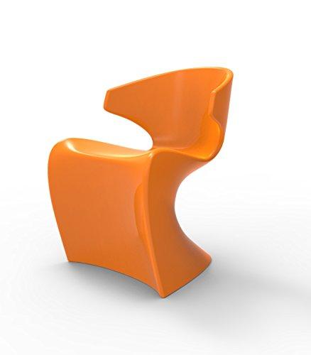 Vondom Wing - Silla brillante, color naranja
