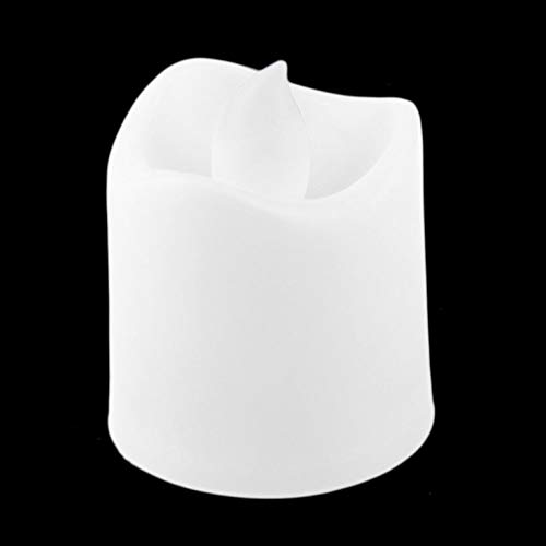 Tree-de-Life Flameless Votive Christmas Candles Battery Operated Flickering LED Tea Light Exquisitely Designed Durable white