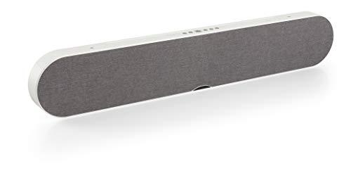 Dali - Katch One soundbar fur Fernsehbildschirme - Bluetooth-Portables - HiFi-Klangqualität mit frischen Design - Leistungsstarken 4 x 50 W-Verstärker - Farbe: Grau