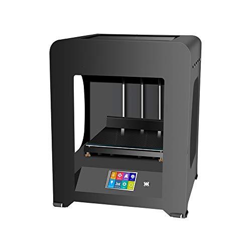 YBWEN 3D Stampanti Desktop di Piccola Dimensione dello stampatore High Precision Industrial Grade 3D con Funzione Riprendi Stampa Stampa 3D & Scansione (Colore : Nero, Dimensione : 37x35x46cm)