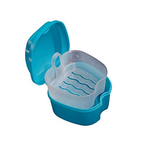 EXCEART Caja de Baño de Dentadura Taza Caja de Almacenamien