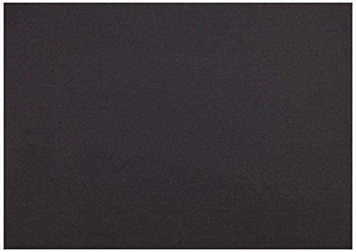 Herlitz 227231 Tonzeichenkarton 50 x 70 cm, 10 Stück, schwarz