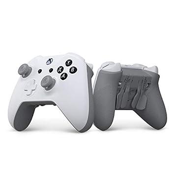 SCUF Prestige Custom Performance Controller for Xbox One Xbox Series X S PC & Mobile - White & Gray - Xbox