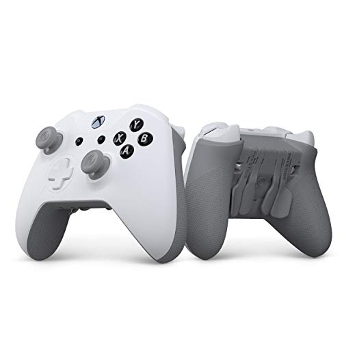 SCUF Prestige Custom Performance Controller for Xbox One, Xbox Series X|S, PC & Mobile - White & Gray - Xbox