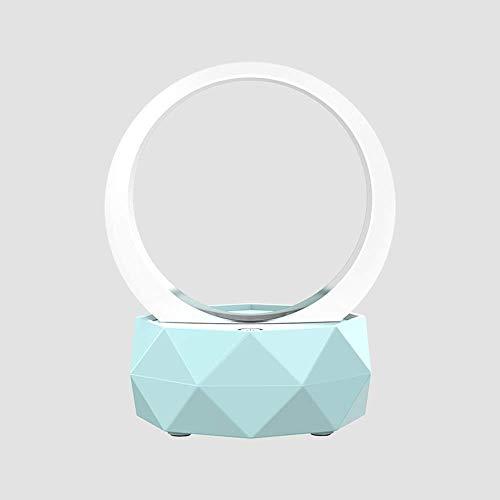 TIANYOU Altavoz Mini Bluetooth 5.0, Altavoz Inalámbrico de Luz Nocturna Creativa, Calidad de Sonido de Alta Fidelidad, Iluminación Led Degradado, Batería de 1500Mah, Adecuado para V