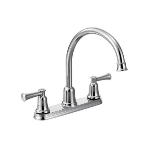 Cleveland Faucets CA41611 Capstone - Grifo de cocina con dos asas, cromado