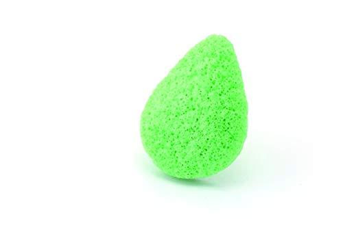 Beautytime - Esponja Konjac Te Verde - Paquete de 6 x 5 gr