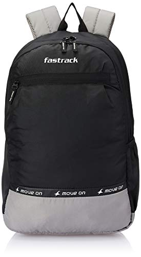 Fastrack 48.3 cms Black Casual Backpack (A0789NBK01)