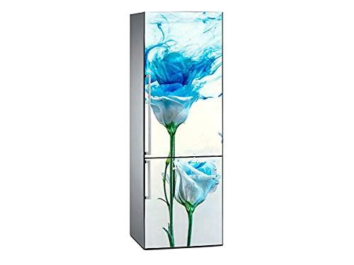 Oedim Pegatinas Vinilo para Frigorífico Rosa Azul desteñida | 185x70cm | Adhesivo Resistente y de Fácil Aplicación | Pegatina Adhesiva Decorativa de Diseño Elegante