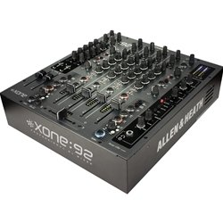 Learn More About Allen and Heath Xone:92 6 Channel Professional DJ Mixer