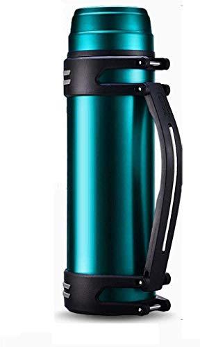 BECCYYLY Pote de Aislamiento 2000L, hogar de Gran Capacidad para el hogar Copa de Viaje al Aire Libre de Acero Inoxidable 304 (Color: Rojo del Vino) wmpa (Color : Lake Blue)