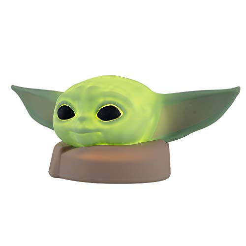 Star Wars The Child LED Night Light, Silicone Lamp, Mandalorian, Baby Yoda, Collector's Edition, Battery Operated, Baby Yoda, Bedroom, Game Room, Office Décor, 51779