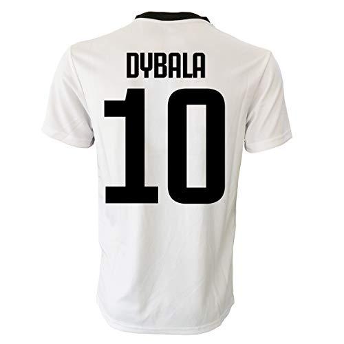PERSEO TRADE Maglia Paulo Dybala 10 Bambino (Taglie-Anni 2 4 6 8 10 12) Adulto (S M L XL) (6/7 Anni)