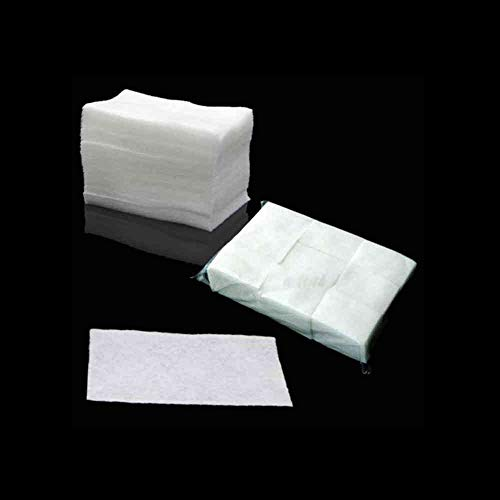 WuLian 900 Pcs/Pack New Cotton Nail Acrylic Gel Polish Remover Wipe Nail Art Tips Manicure Nail Clean Wipes Cotton Lint Pads Paper