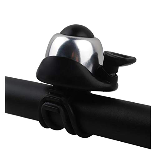 Timbres de bicicleta for adultos Bell de la bicicleta de aleación de aluminio Loud Cuerno de ciclo del manillar 360 ajuste de rotación de alarma Bell de la bici MTB de la bici de la bicicleta Bell pie