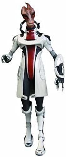 Big Fish Toys Mass Effect 3  Series 2  Mordin Action Figure by Big Fish Toys TOY (English Manual)