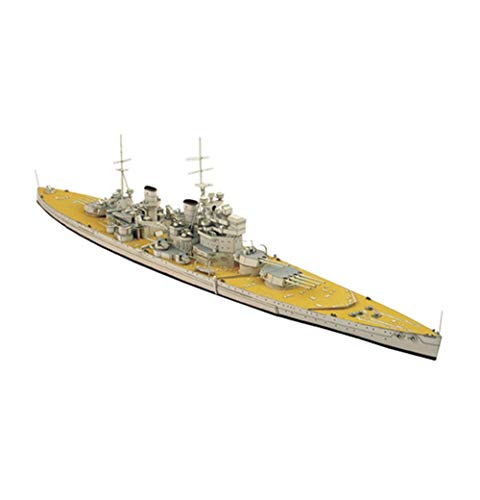 JHSHENGSHI Model Toys 1/400 Scale George V United Kingdom Battleship Toys And Gifts, 22Inch