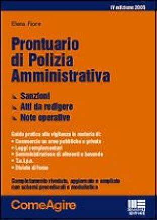 Prontuario di Polizia amministrativa