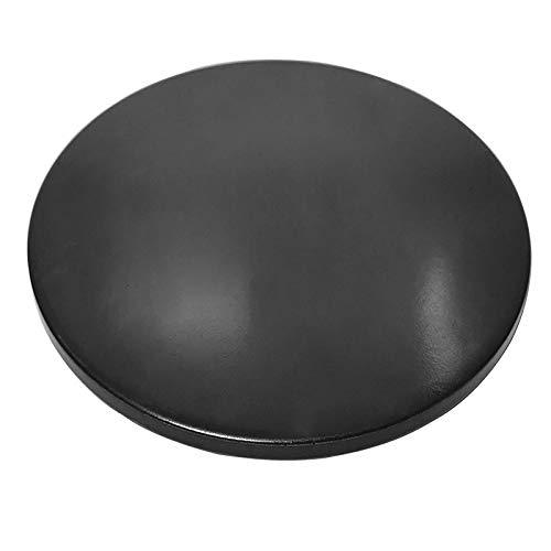 Wondjiont 13' Black Ceramic Pizza Stone, Baking Stones for Oven, Grill & BBQ