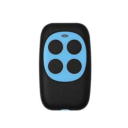 Calistouk - Mando a distancia de repuesto para puerta de garaje (270 MHz a 434 MHZ), color azul claro