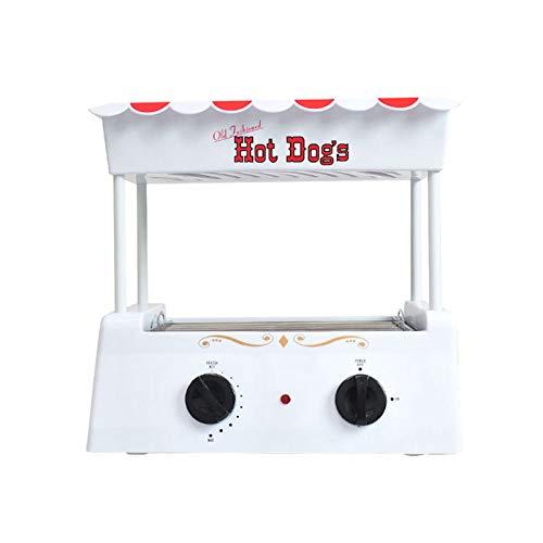 TWW Wurstmaschine Home Mini Kleine Automatische Kommerzielle Hot Dog Gegrillte Wurst Grill Multifunktionsmaschine Frühstück Wurst Maschine