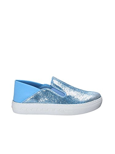 Fornarina PE17YM1002V0 Slip On Donna BLUE 38