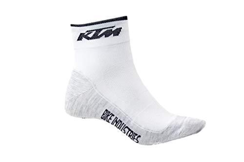 KTM 1 Paar BIKE Qualitäts Socken - Factory Line 36-39/40-43/44-47, Sockengröße:40-43