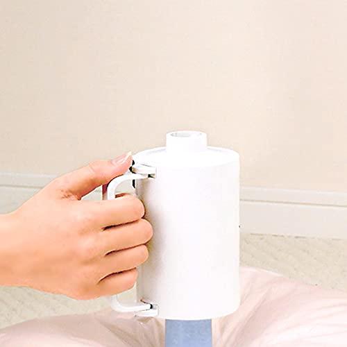 【布団圧縮袋 掃除機不要 ふとん圧縮袋 電動ポンプ Q-PON 押入れ】 Q-PON バルブ用電動吸引ポンプ(B521)