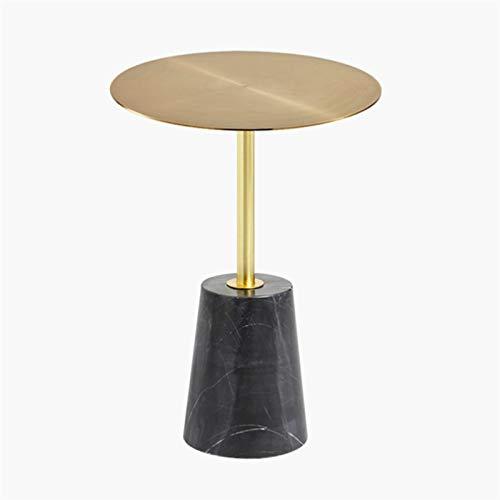 YAOLUU Tavolo da Soggiorno Moderno Accent End Side End Table Industrial Style Cement Ferro Side Table Style Soggiorno Balcone Piccolo Tavolo Rotondo, 15.7'× 21,7' Tavolino Moderno (Color : C)