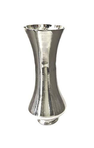 Colmore Bodenvase Vase Dekovase Silber 26 x 26 x 62 cm 001-16-1593-L