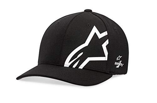 Alpinestars Corp Shift Sonic Tech Hat Gorra de béisbol, Negro (Black/White 1020), Medium (Talla del...