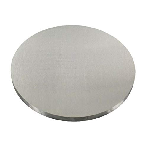 Edelstahl Ronde V2A 30-150mm Ankerplatte Deckel Flansch Bodenplatte Platte VA (A2 - AISI304, 70x5mm²)