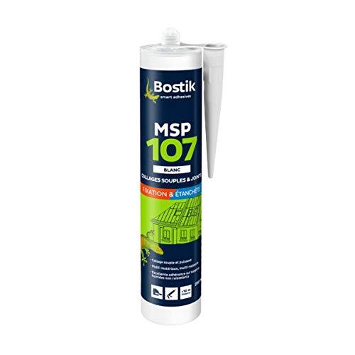 Bostik MSP 107 Polymer weiß Kleb- und Dichtmasse für feuchte Untergründe