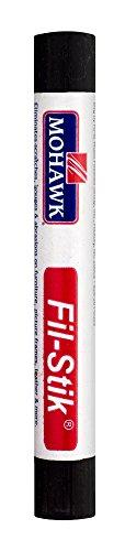 Mohawk Fill Stick (Fil-Stik) Putty Stick for Wood Repair (Espresso KMC)- Rub On Semi-Soft Wax Filler Stick
