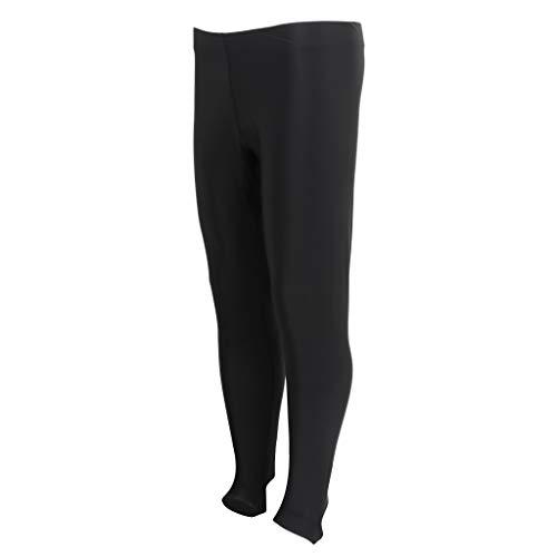 yotijar Pantalones de neopreno para traje subacuático. Negro XL