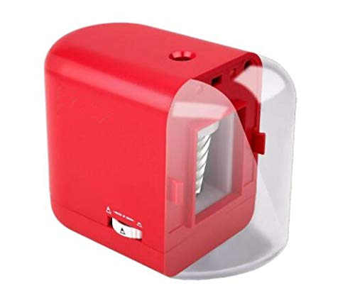 Ofoice Electric Pencil Sharpener with Heavy Duty Blade, Battery/Adapter Operated Automatic Pencil Sharpener for Office, School, Studio