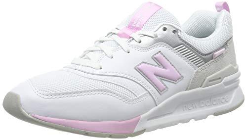 New Balance Damen 997H d Sneaker, Weiß/Weiß, 39 EU