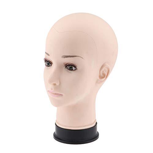 Hochwertig Weicher Schaufensterpuppe Kopf Mannequin Kopf Dekokopf Perückenkopf für Perücken, Kopfhörer, Mützen usw.