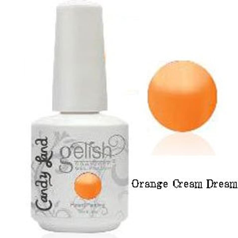 発行承認教育者Harmony gelishソークオフジェル-Orange Cream Dream-キャンディーランドコレクション 15ml [海外直送品][並行輸入品]