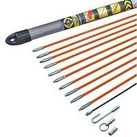 C.K T5410 Kabel-Einziehstangensatz \'Mighty-Rod\' 10 Meter